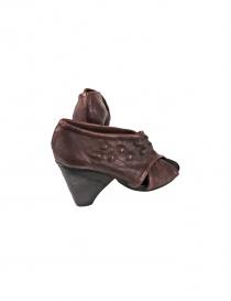 Brown leather Devrandecic shoes price