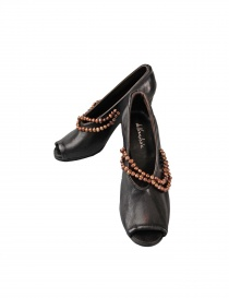 Black leather Devrandecic shoes online
