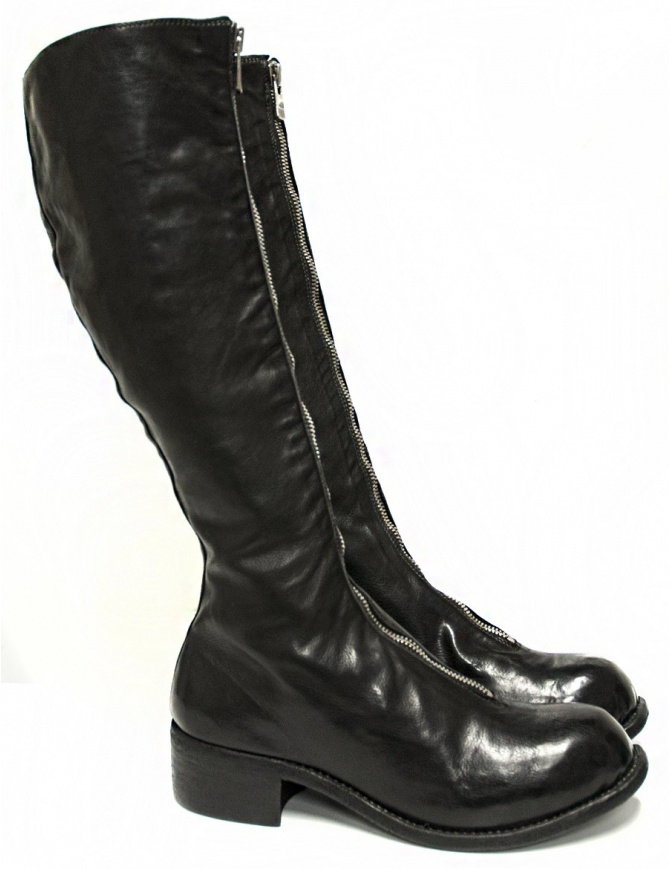 Guidi PL3 black leather boots PL3-HORSE-FG womens shoes online shopping