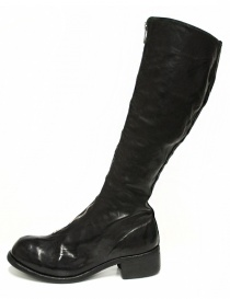 Stivale Guidi PL3 in pelle nera acquista online