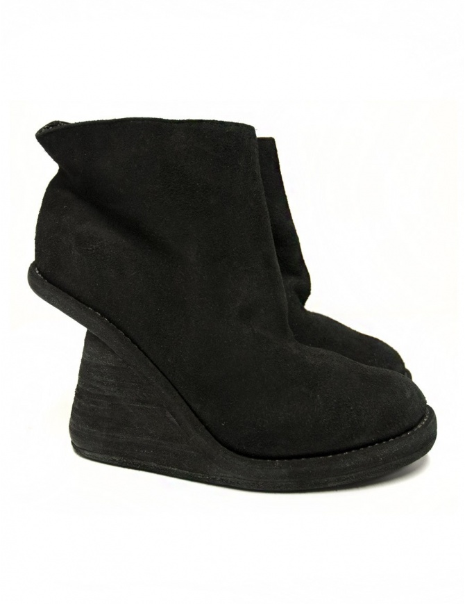 Stivaletto Guidi 6006 in pelle nera 6006-LINED-H calzature donna online shopping