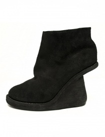 Guidi 6006 black leather ankle boots buy online