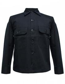 Camicia Camo colore navy BALIO-148-NA