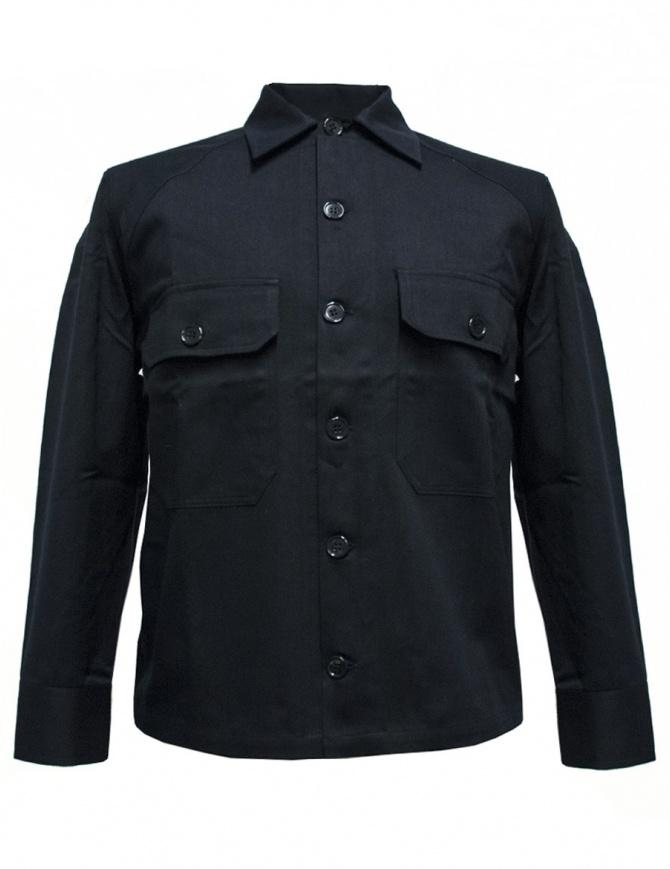 Camo navy shirt BALIO-148-NA mens shirts online shopping