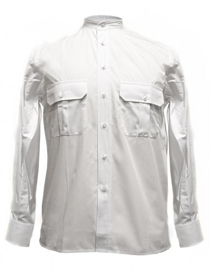 Camo white shirt ALBINO-261-W mens shirts online shopping