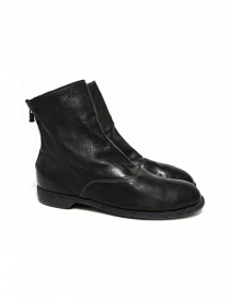 Guidi 211 black leather ankle boots 211-CALF-FG-