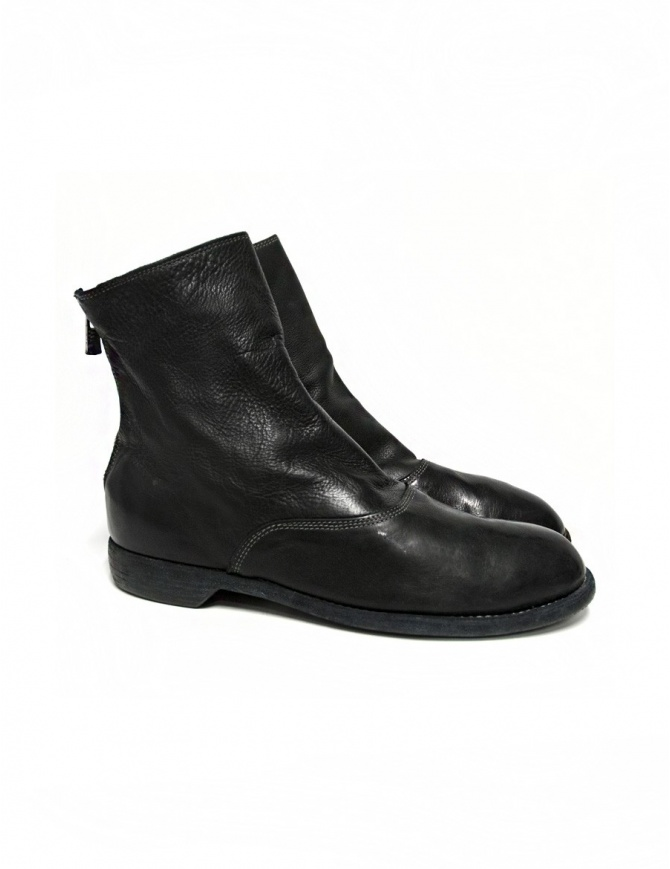 Guidi 211 black leather ankle boots 211-CALF-FG- mens shoes online shopping