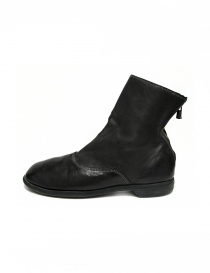 Guidi 211 black leather ankle boots buy online