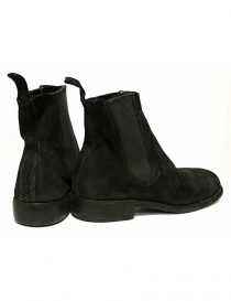 Black suede leather ankle boots 96 Guidi price