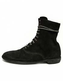 Guidi 212 black suede leather ankle boots buy online