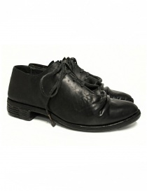 Mens shoes online: Carol Christian Poell black leather shoes