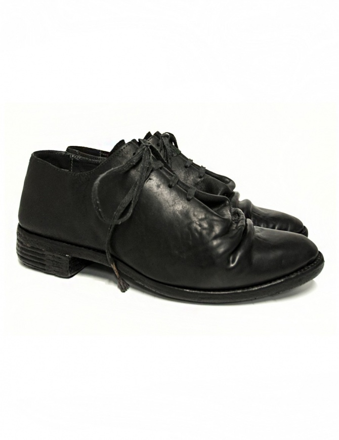 Carol Christian Poell black leather shoes AM/2680 CUL-PTC/010 mens shoes online shopping
