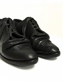 Scarpa Carol Christian Poell in pelle nera calzature uomo acquista online