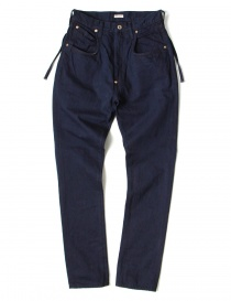 Pantalone indigo Kapital EK-494 IDG
