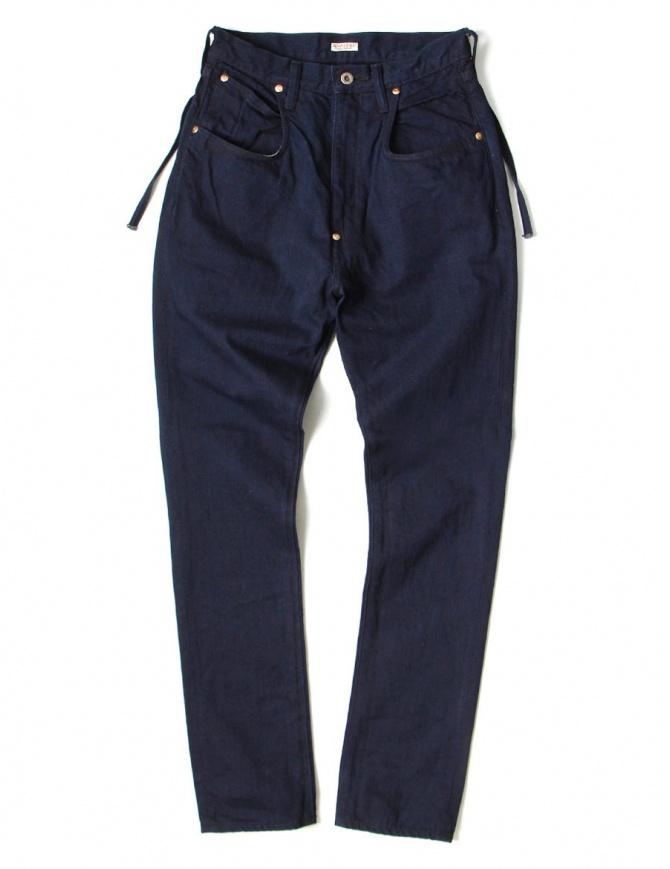 Pantalone indigo Kapital EK-494-IDG pantaloni donna online shopping