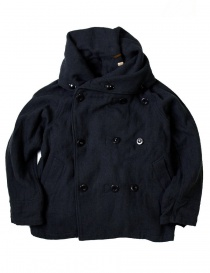 Womens jackets online: Kapital multi-purpose EK-395 Tri-P coat navy jacket