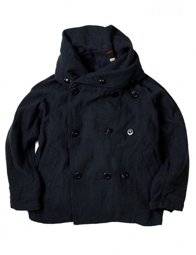 Giubbino multiuso Kapital Tri-P coat EK-395 colore navy EK-395 giubbini donna online shopping