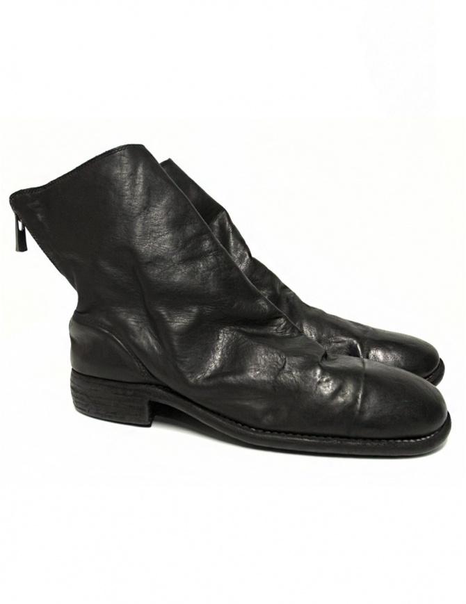 Stivaletto Guidi 986 in pelle nera 986-HORSE-FG calzature uomo online shopping