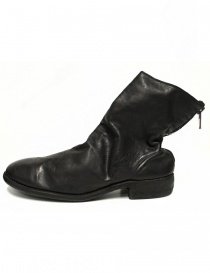 Guidi 986 black leather ankle boots
