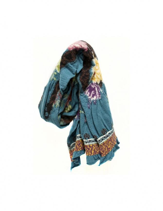 Sciarpa Kapital colore azzurro K1611XG616-T sciarpe online shopping