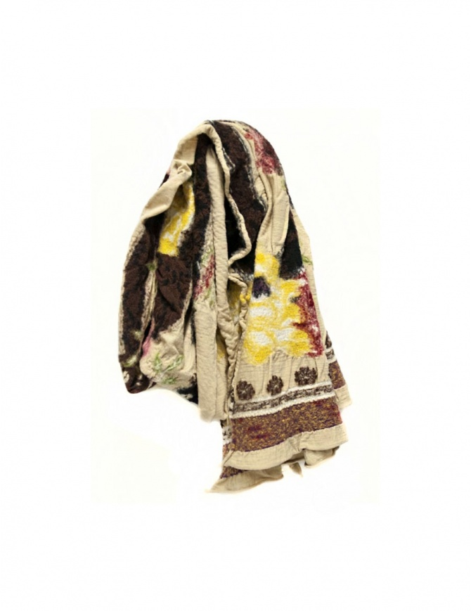 Kapital beige scarf K1611XG616-B scarves online shopping