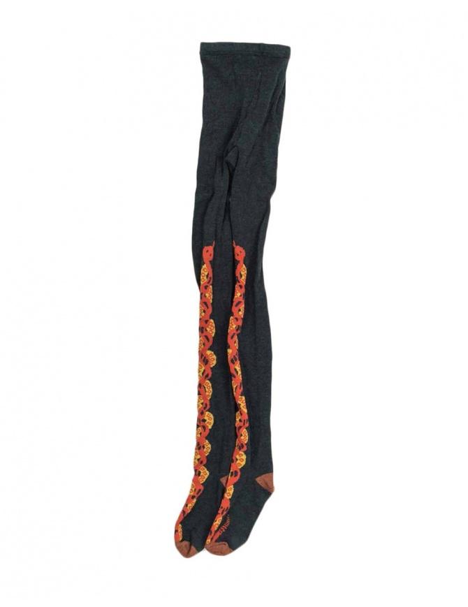 Calza Kapital colore grigio e rosso K1611XG625 calzini online shopping