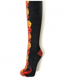 Kapital grey and red stocking buy online