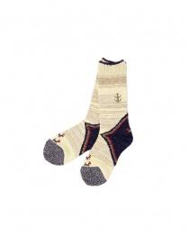Kapital ivory socks K1610XG591-A