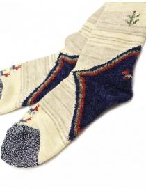 Kapital ivory socks