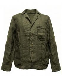 Giacca Kapital colore verde militare K1604LJ108 KHAKI
