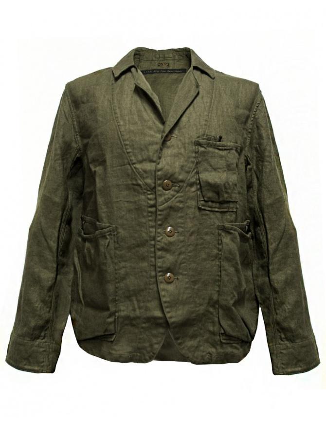 Giacca Kapital colore verde militare K1604LJ108 KHAKI giacche uomo online shopping