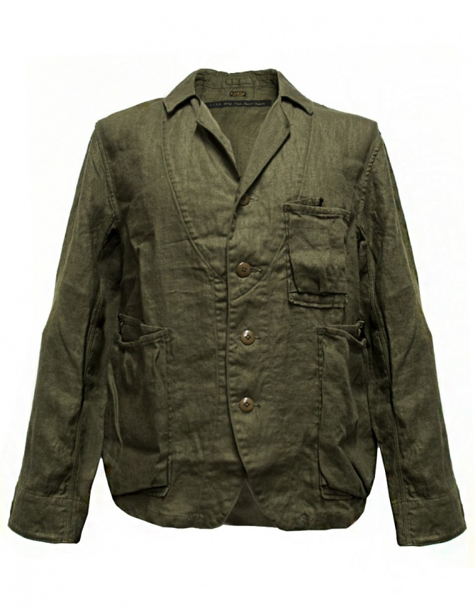 Kapital army green jacket K1604LJ108 mens suit jackets online shopping