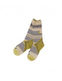 Kapital beige socks K1610XG591-B