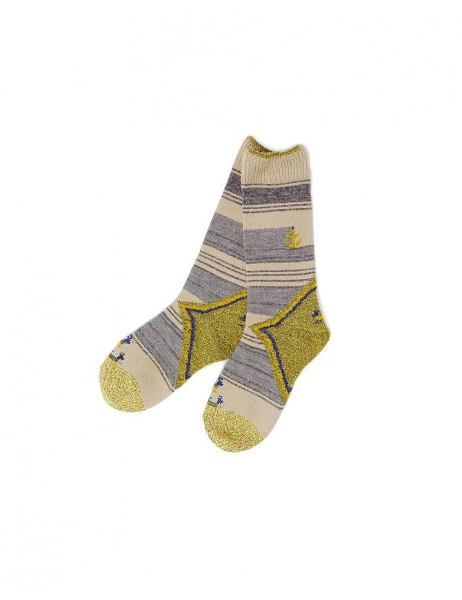 Kapital beige socks K1610XG591 BEIGE socks online shopping