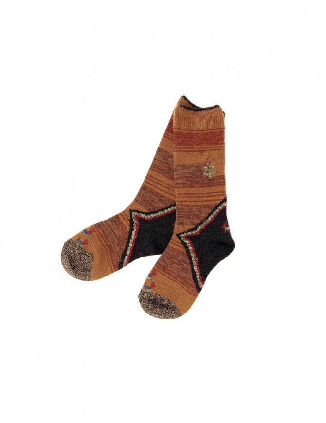 Kapital brown socks K1610XG591-B socks online shopping