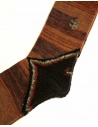 Kapital brown socks shop online socks