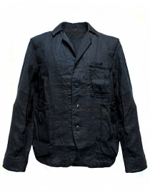 Giacca Kapital in lino colore navy online