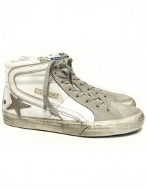 Sneaker Golden Goose Slide colore bianco GCOMS595-M1