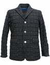 Sage de Cret grey prominent check texture jacket buy online 31-70-3988 JACKET COL20