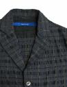 Sage de Cret grey prominent check texture jacket 31-70-3988 JACKET COL20 price