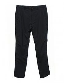 Mens trousers online: Sage de Cret navy pants