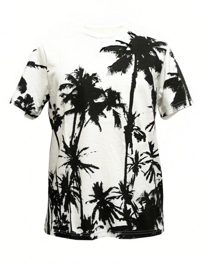 T-shirt Golden Goose White Palms G30MP524-D3 t shirt uomo online shopping
