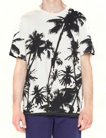 T-shirt Golden Goose White Palms prezzo