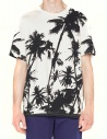 Golden Goose White Palms t-shirt G30MP524-D3 price