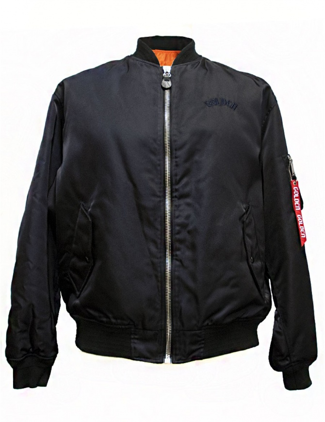 Golden Goose Oversized Bomber navy jacket G30MP561-A2 mens jackets online shopping