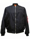 Giubbino Golden Goose Oversized Bomber colore navy acquista online G30MP561-A2