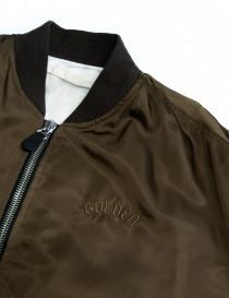 Giubbino Golden Goose Oversized Bomber colore marrone giubbini uomo acquista online