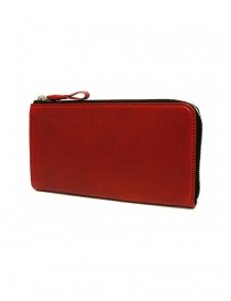 Cornelian Taurus Tower red leather wallet TOWER-WALLET-RED