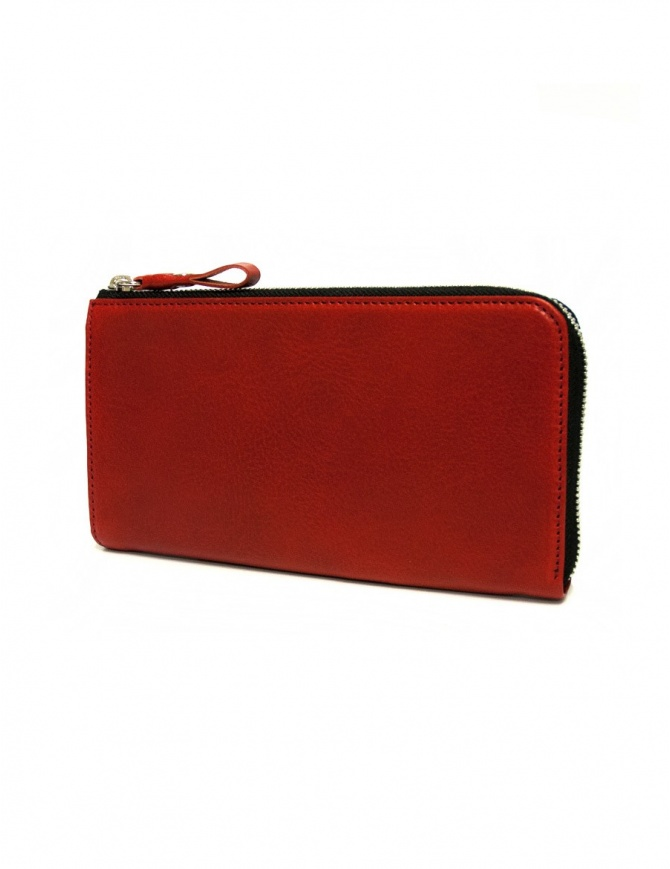 Cornelian Taurus Tower red leather wallet TOWER-WALLET-RED wallets online shopping