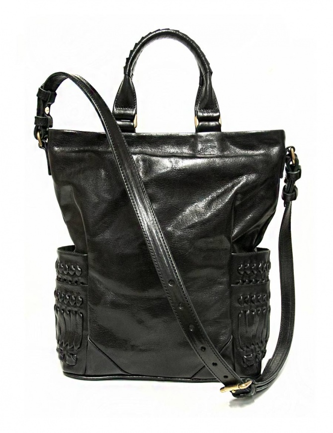 Cornelian Taurus Pick Pocket by Daisuke Iwanaga bag black color PICK-TOTE-POCKET-MI bags online shopping